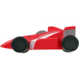 Monogrammed Race Car Stress Toy