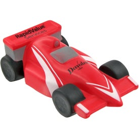 Printed Race Car Stress Toy