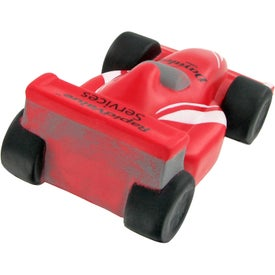 Custom Race Car Stress Toy