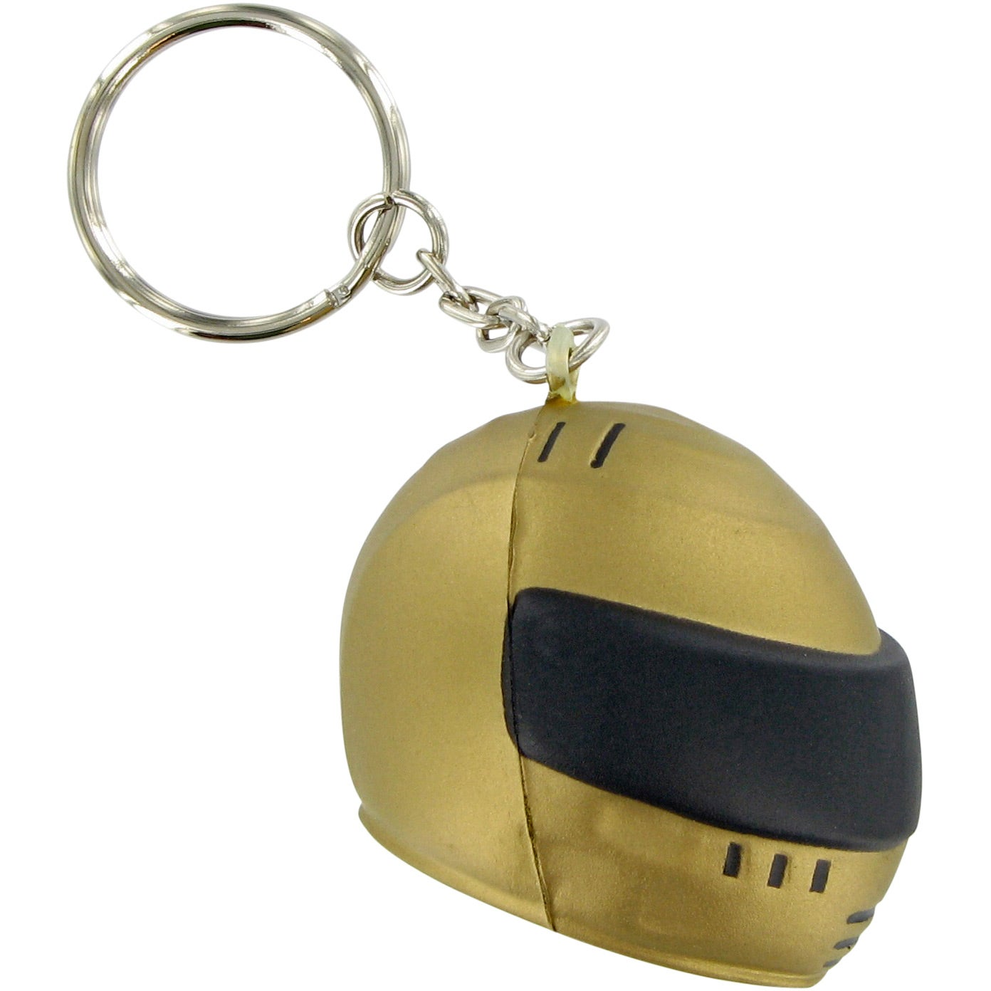 Racing Helmet Keychain Stress Toy