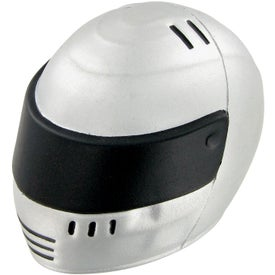 Racing Helmet Stress Toy Imprinted with Your Logo