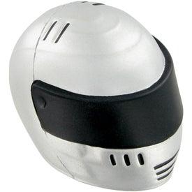 Custom Racing Helmet Stress Toy