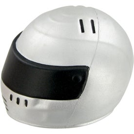 Logo Racing Helmet Stress Toy