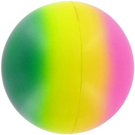 Rainbow Ball Stress Toy for Marketing