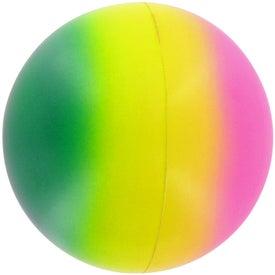 Rainbow Ball Stress Toy for Marketing