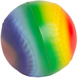 Rainbow Baseball Stress Relievers