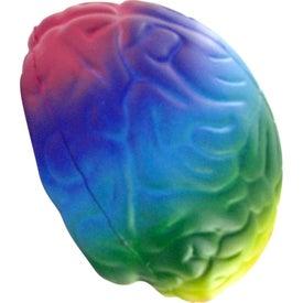 Rainbow Brain Stress Toy for Customization