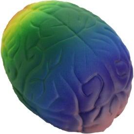 Custom Rainbow Brain Stress Toy