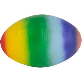 Rainbow Football Stress Reliever