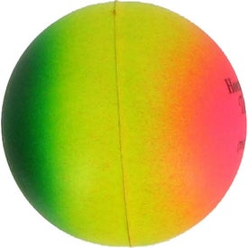 Rainbow Round Stress Ball for Your Company
