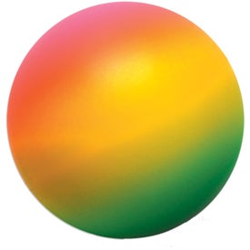Rainbow Round Stress Ball