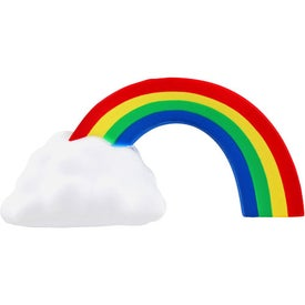 Rainbow Stress Ball Branded with Your Logo