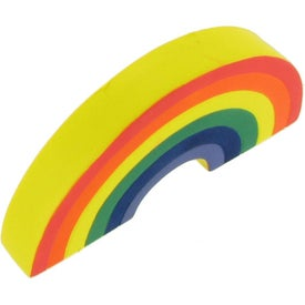 Rainbow Stress Ball Imprinted with Your Logo
