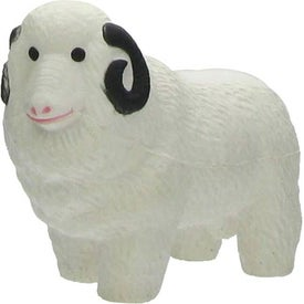 Ram Stress Ball Printed with Your Logo
