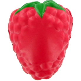 Logo Raspberry with Leaf Stress Ball