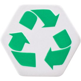 Advertising Recycle Symbol Stress Ball