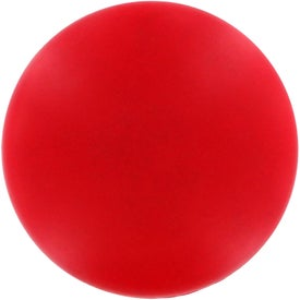 Printed Red Disk Stress Reliever
