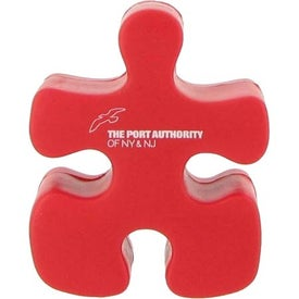 Advertising Red Puzzle Piece Stress Reliever