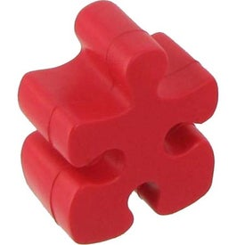 Red Puzzle Piece Stress Reliever for Your Church