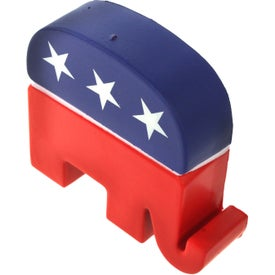 Republican Elephant Stress Ball Branded with Your Logo