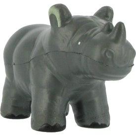 Customized Rhino Stress Ball
