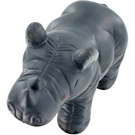 Rhino Stress Ball Printed with Your Logo
