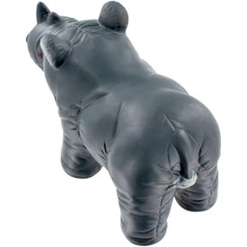Rhino Stress Ball Branded with Your Logo
