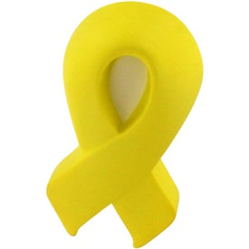 Company Yellow Award Ribbon Stress Relievers