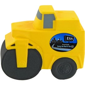Road Roller Stress Toy Branded with Your Logo