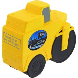 Personalized Road Roller Stress Toy