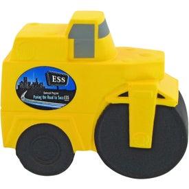 Logo Road Roller Stress Toy