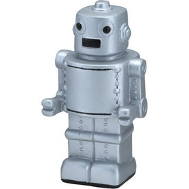 Robot Stress Ball (Silver)