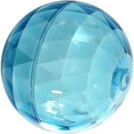 Branded Rocket Orb Promo Bouncer Stress Ball