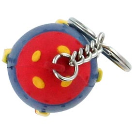 Branded Rocket Key Ring Stress Reliever