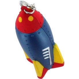 Customized Rocket Key Ring Stress Reliever