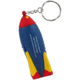 Rocket Key Ring Stress Reliever