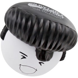 Rock N' Roll Mad Cap Stress Ball for Promotion