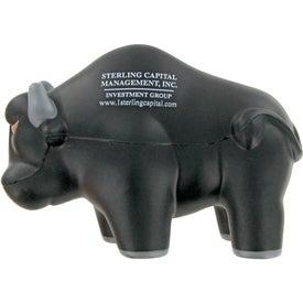 Logo Rodeo Bull Stress Toy