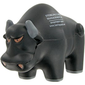 Advertising Rodeo Bull Stress Toy