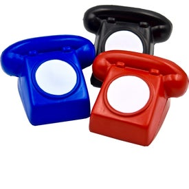 Rotary Phone Stress Toy with Your Slogan