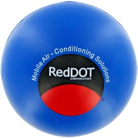 Round Ball Stress Toy with Your Slogan