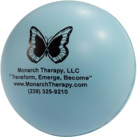 Round Ball Stress Toy for Your Church