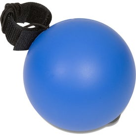 Round Bounce-Back Stress Reliever Branded with Your Logo