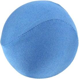 Imprinted Round Fabric Stress Ball