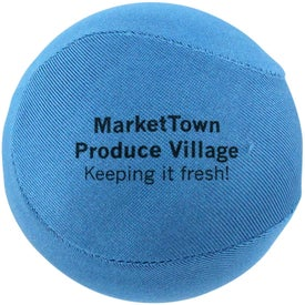 Round Fabric Stress Ball for Marketing