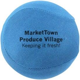 Round Fabric Stress Ball for Marketing