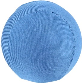 Personalized Round Fabric Stress Ball