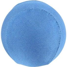 Personalized Round Fabric Stress Ball