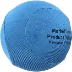 Printed Round Fabric Stress Ball