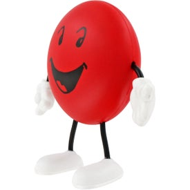 Round Figure Stress Ball for Promotion